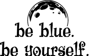 be blue. be yourself. (2)